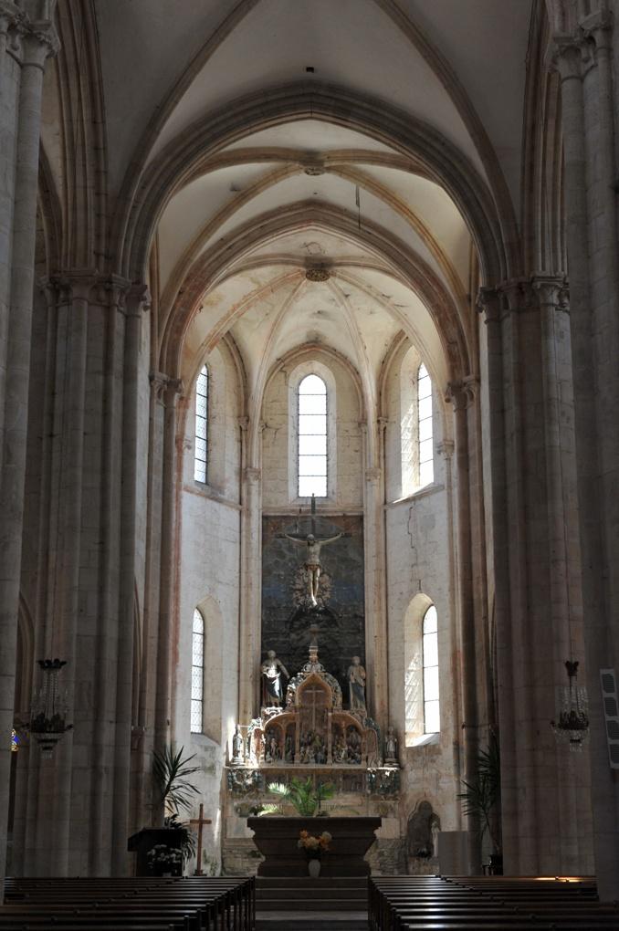 Aignay-le-Duc - Eglise Saint-Pierre-et-Saint-Paul (XIIIe siècle) : le choeur