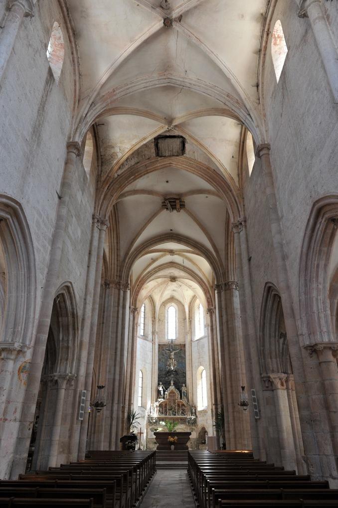 Aignay-le-Duc - Eglise Saint-Pierre-et-Saint-Paul (XIIIe siècle) - Vue intérieure générale
