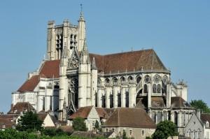 Auxerre (Yonne) - Cathédrale Saint-Etienne (XIIIe-XVIe siècle)