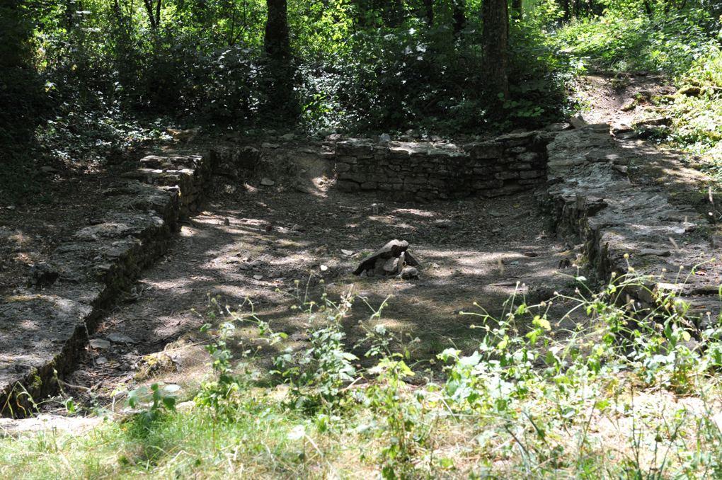 Baubigny - Village ruiné de Dracy (XIVe siècle) - Vestiges