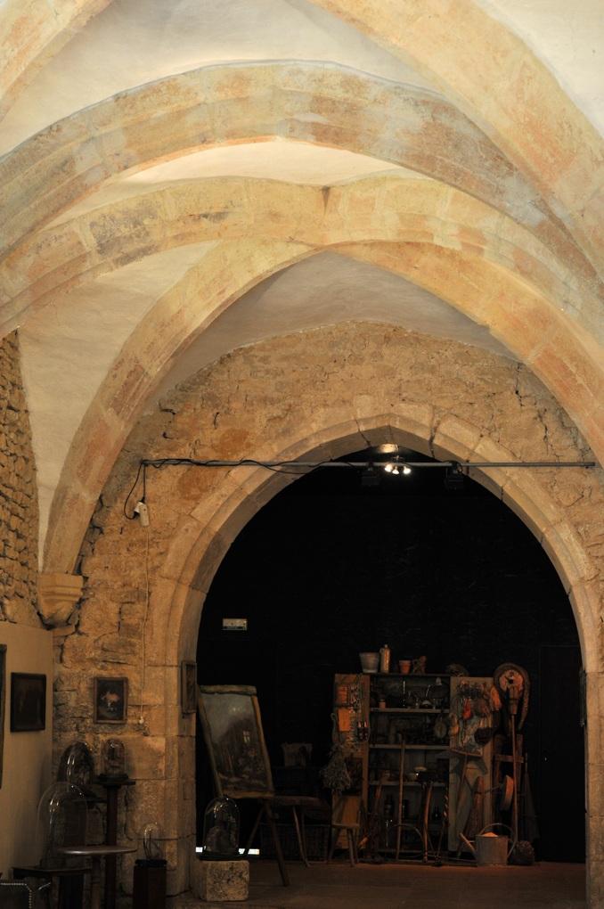 Châtel-Gérard - Prieuré de Vausse - Porterie-hôtellerie (XVe siècle)