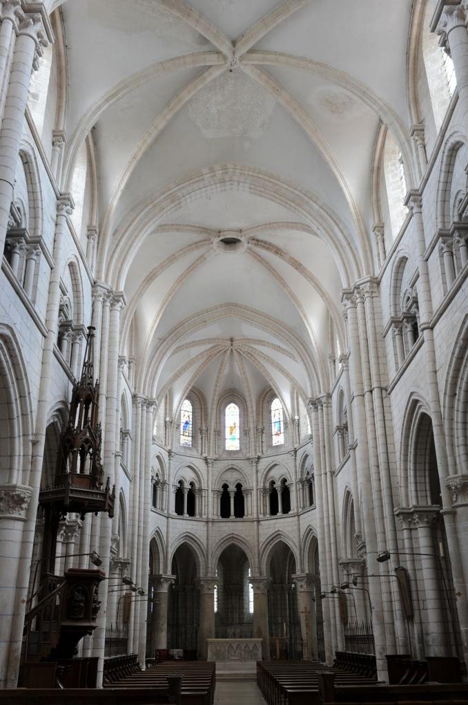 Chablis - Collégiale Saint-Martin (v. 1170-v. 1220)