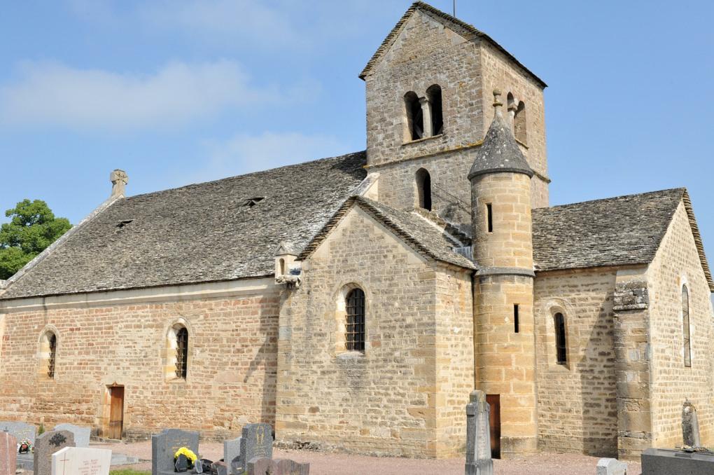 Clamerey - Eglise Saint-Cyr-et-Sainte-Julitte (XIIe et XVe siècle)