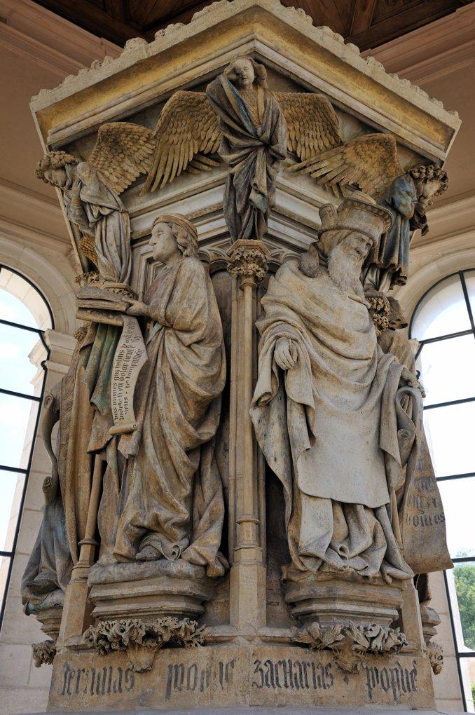 Dijon - Puits de Moïse (v. 1400)