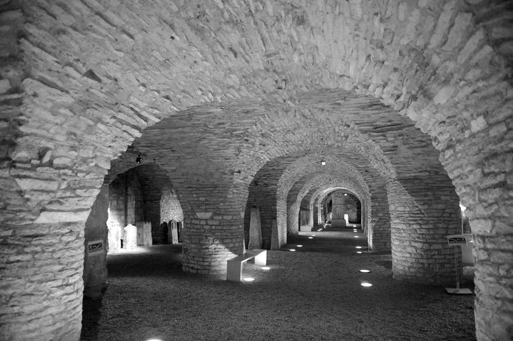 Dijon - Abbaye Saint-Bénigne : le scriptorium (XIe siècle)