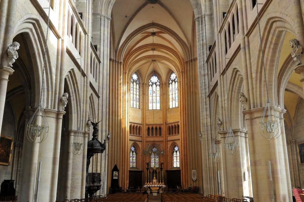Dijon - Ancienne abbatiale Saint-Bénigne (aujourd'hui cathédrale)