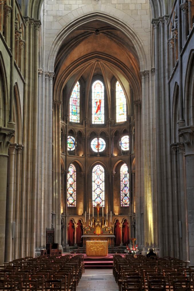 Dijon - Eglise Notre-Dame - Le choeur