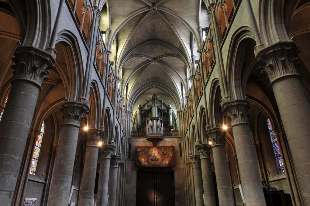 Dijon - Eglise Notre-Dame - La nef