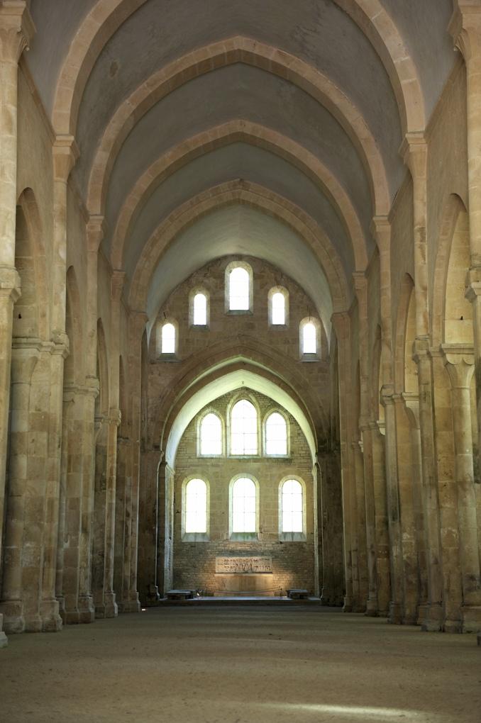 Montbard - Abbaye de Fontenay - Abbatiale (XIIe siècle)
