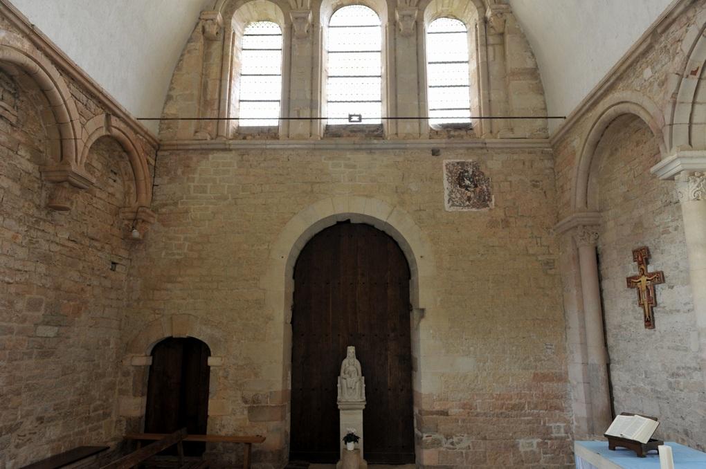 Vézelay - Chapelle de la Cordelle (v. 1150)