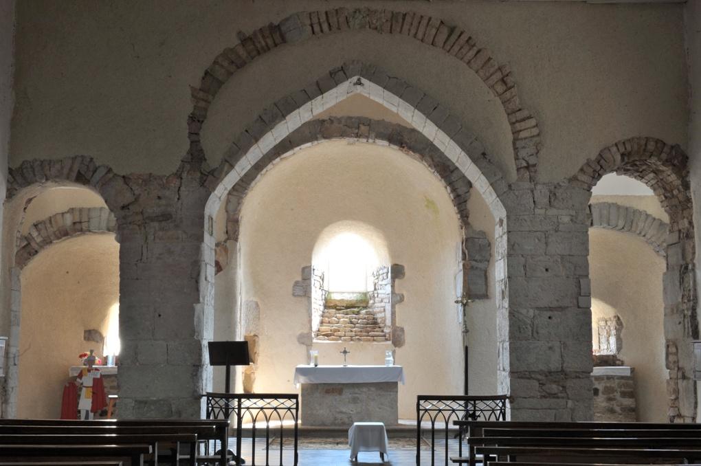 La Motte-Ternant - Eglise Saint-Martin (XIe-XIIe siècle) : passages berrichons