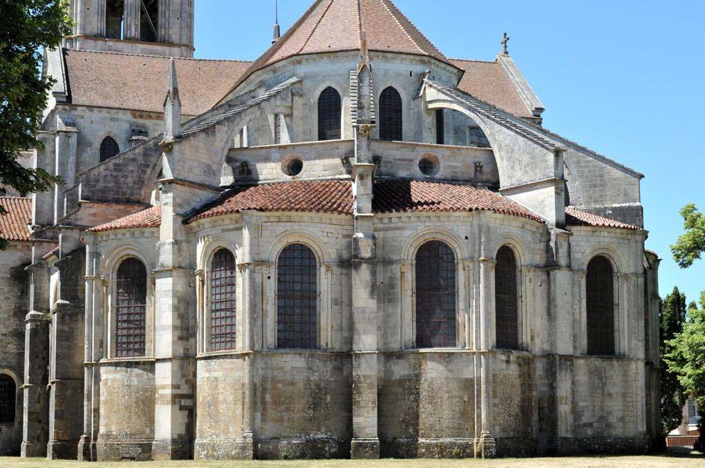 Vézelay - Le chevet (3e tiers du XIIe siècle)
