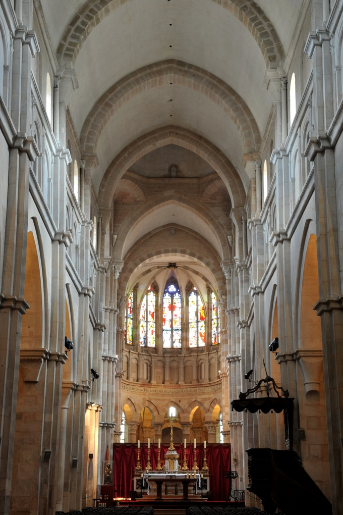 Beaune - Collégiale Notre-Dame (XIIe siècle)