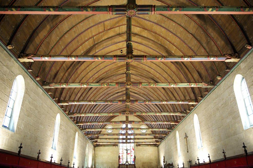 """Beaune - Hospices (1443-1451) - """"Salle des pôvres"""""""