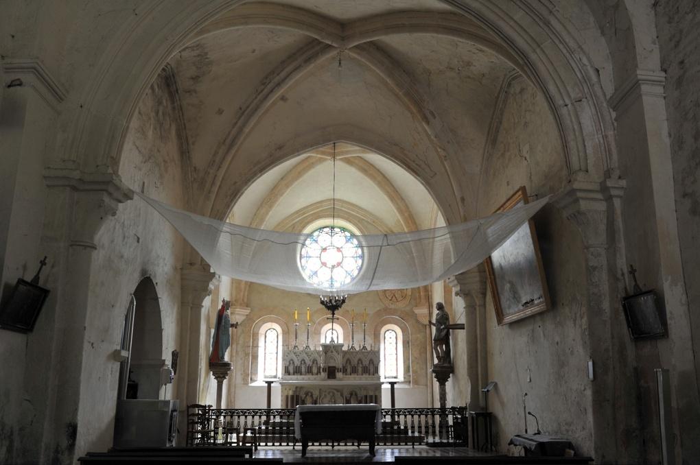 Bure-les-Templiers - Eglise Saint-Julien - vue intérieure