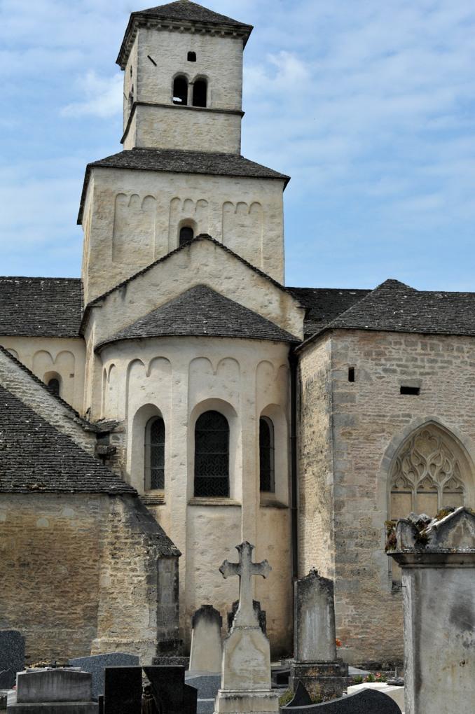 Châtillon-sur-Seine - Eglise Saint-Vorles (XIe siècle) - Le chevet