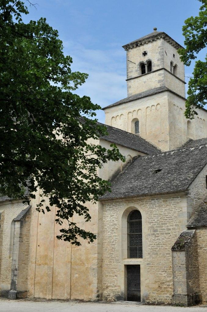 Châtillon-sur-Seine - Eglise Saint-Vorles - Transept sud et clocher (XIe et XIIe siècle)