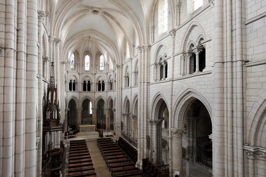 Chablis - Collégiale Saint-Martin (XIIe-XIIIe siècle)