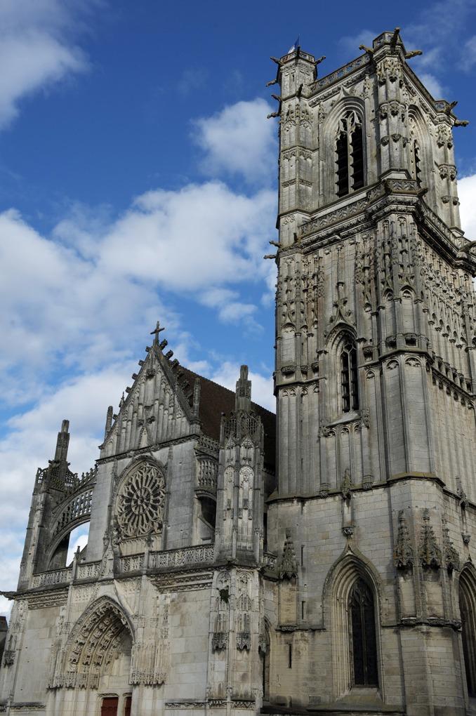 Clamecy - Collégiale Saint-Martin (XIIIe et XVIe siècle)