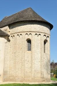 Combertault - Eglise Saint-Hippolyte - Le choeur (v. 1030)