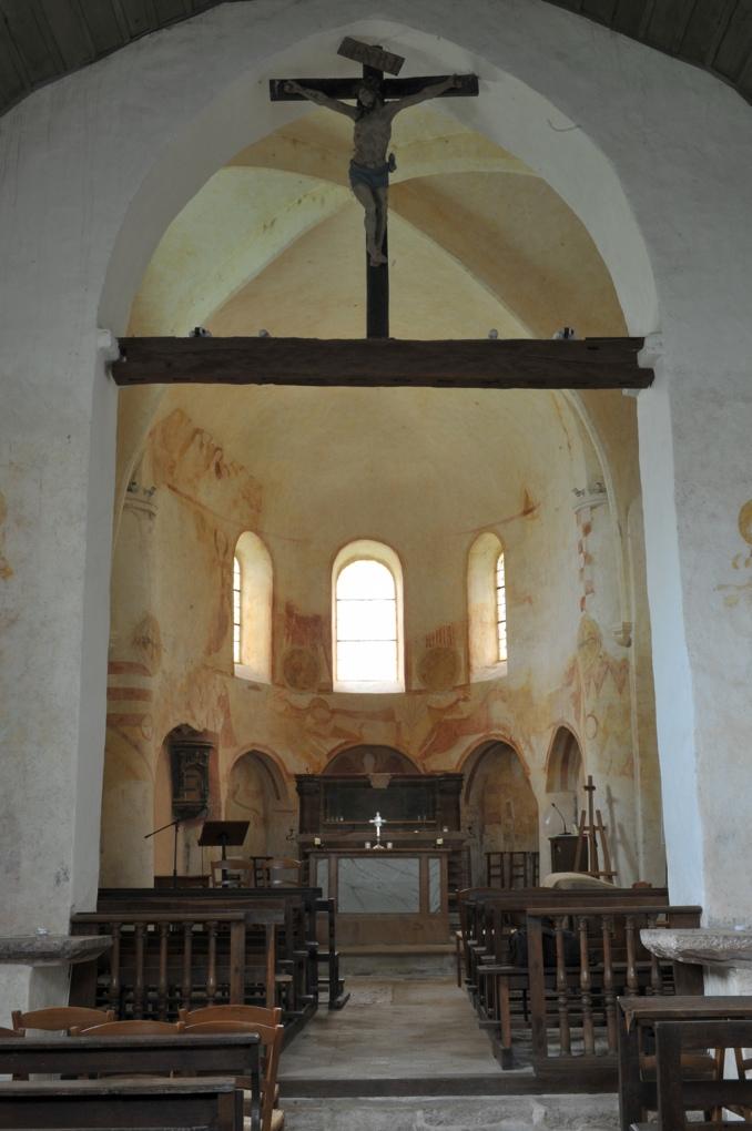 Combertault - Eglise Saint-Hippolyte - Le choeur