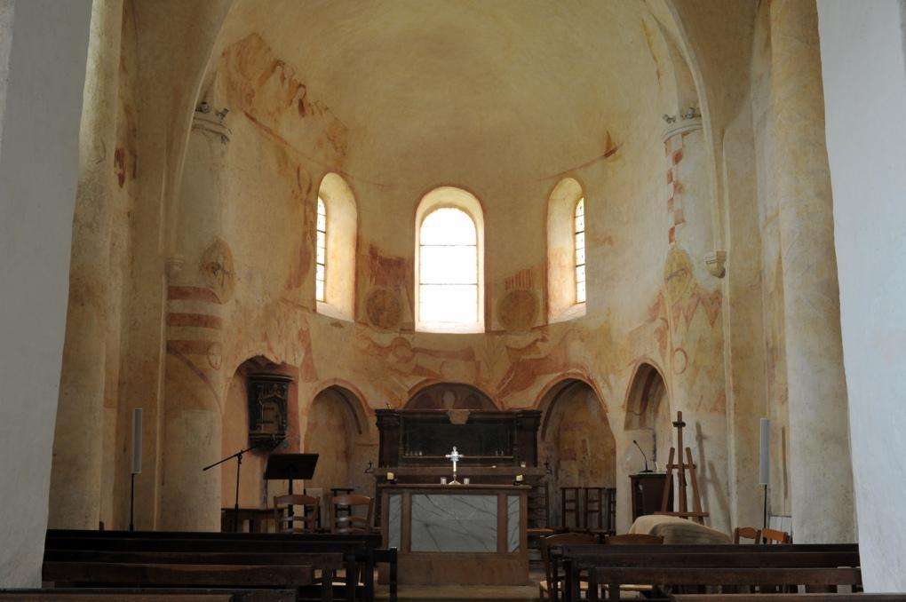 Combertault - Eglise Saint-Hippolyte - Fresques