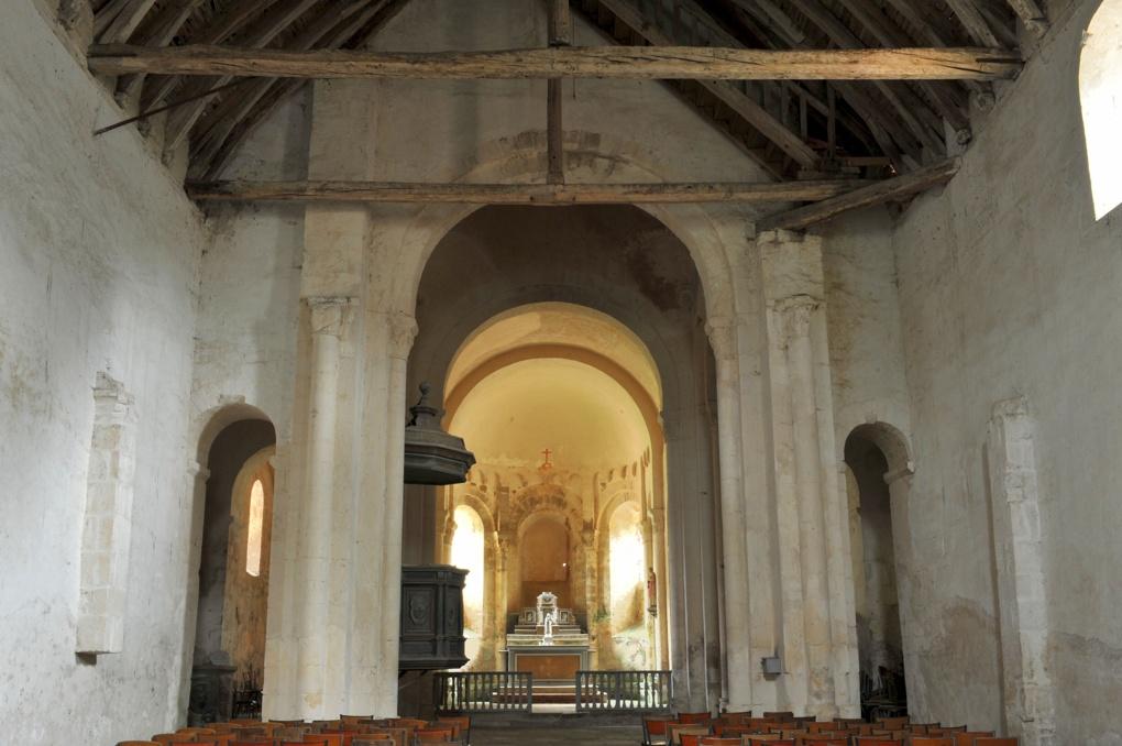Moulins-Engilbert - Ancien prieuré de Commagny - Eglise saint-Laurent (XIIe siècle)