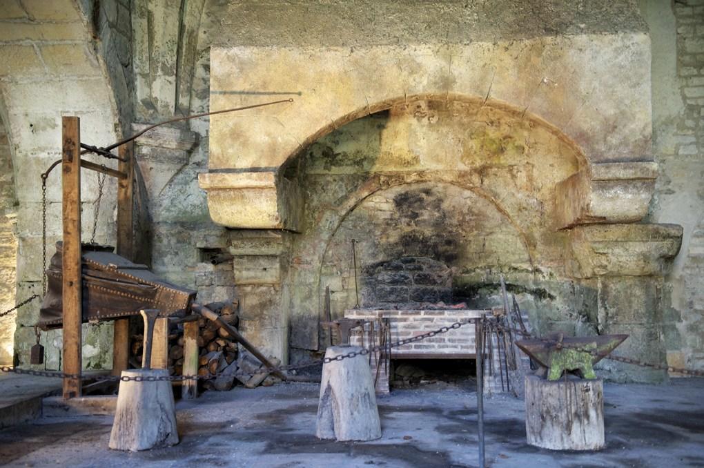 Montbard - Abbaye de Fontenay - La forge (fin du XIIe siècle)