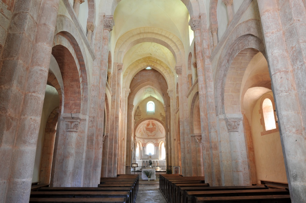 Gourdon - Eglise Notre-Dame-de-l'Assomption (XIIe siècle)