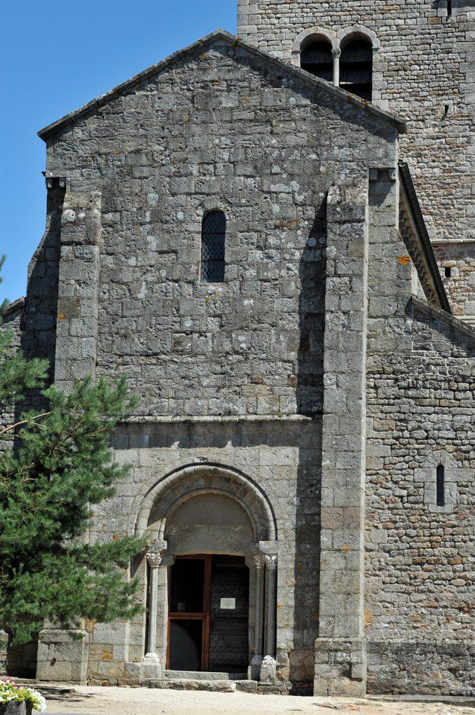 Gourdon - Eglise Notre-Dame-de-l'Assomption (XIIe siècle) - Façade