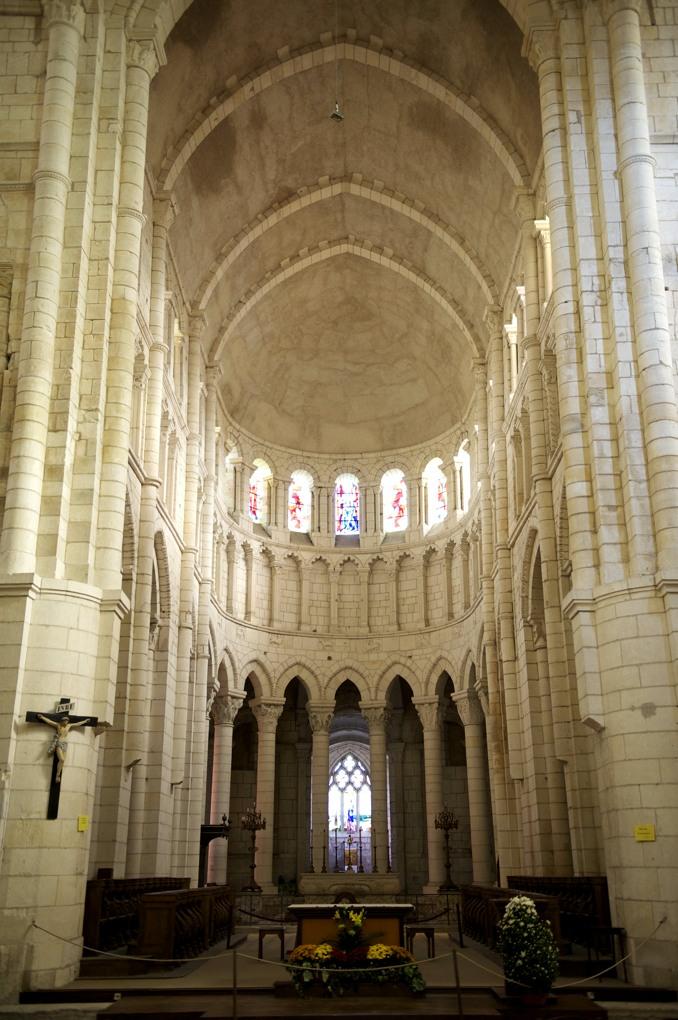 La Charité-sur-Loire - Eglise priorale : le choeur (2e quart du XIIe siècle)