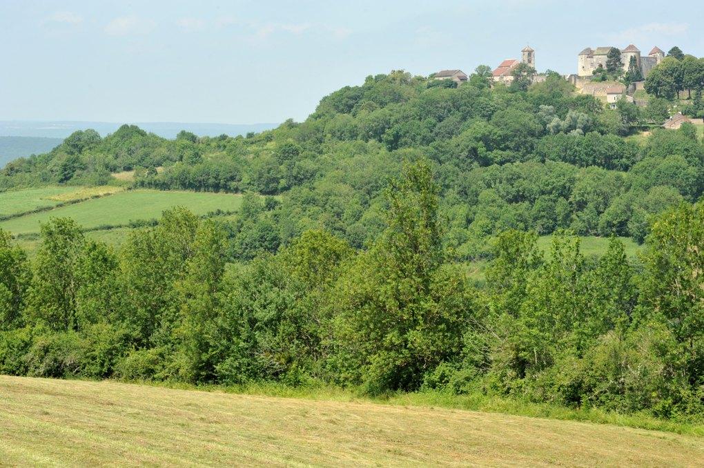 Mont-Saint-Jean - Vue sur le village