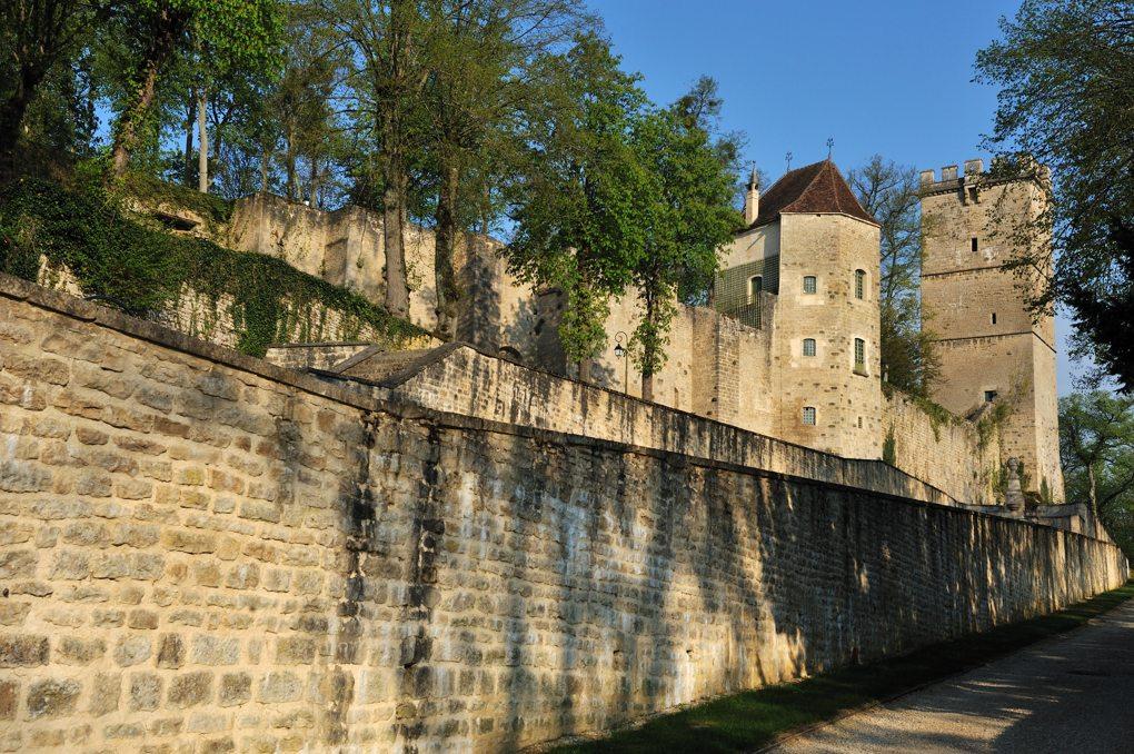 Montbard - Le château ducal (XIVe siècle)