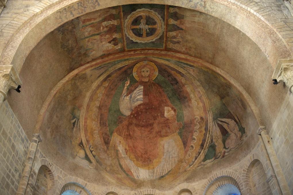 Nevers - Cathédrale Saint-Cyr-et-Sainte-Julitte (XIe et XIII-XVIe siècle) - L'abside romane