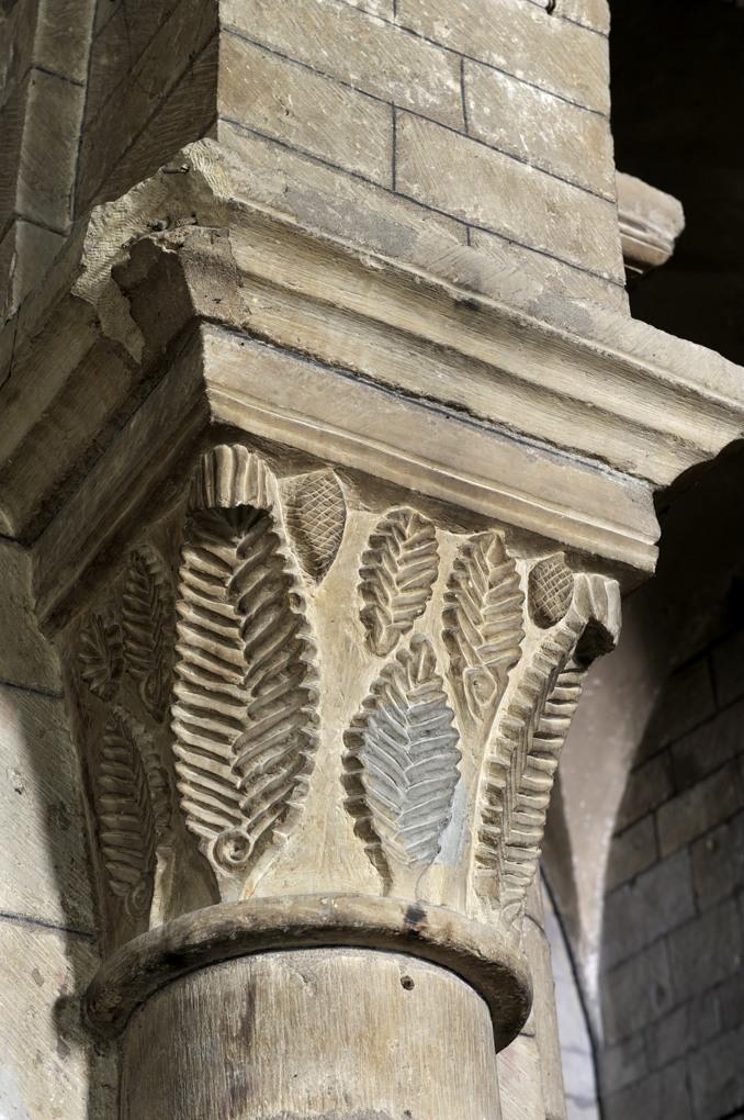 Nevers - Eglise Saint-Etienne - Chapiteau (fin du XIe siècle)