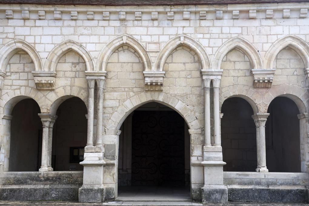 Pontigny - Abbatiale cistercienne-Narthex (fin XIIe s.)