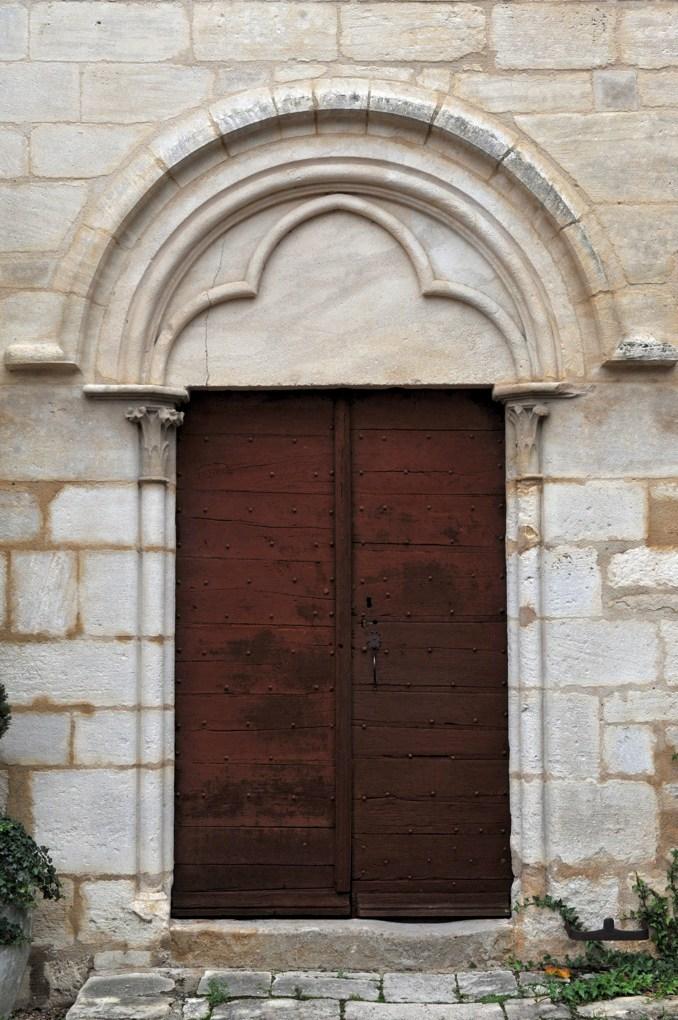 Prémery - Collégiale Saint-Marcel - Portail sud (XIIIe siècle)