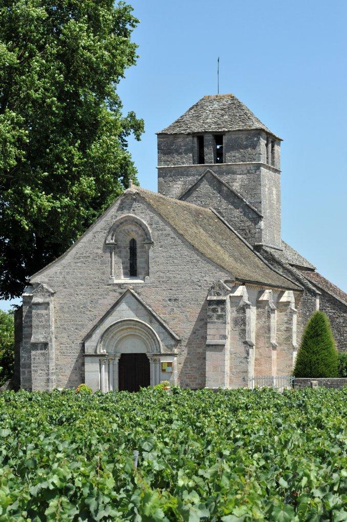 Prémeaux-Prissé - Eglise Saint-Martin de Prissé (XIIe-XIIIe siècle)