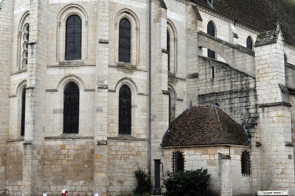 Prémery - Collégiale Saint-Marcel - Abside et collatéral nord (XIIIe siècle)