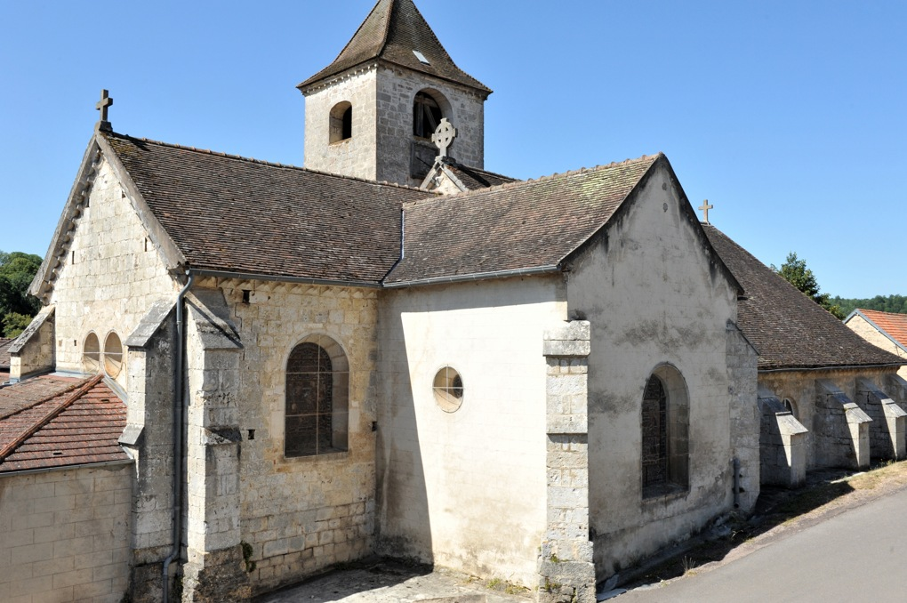Recey-sur-Ource - Eglise Saint-Remy (fin XIIe siècle)