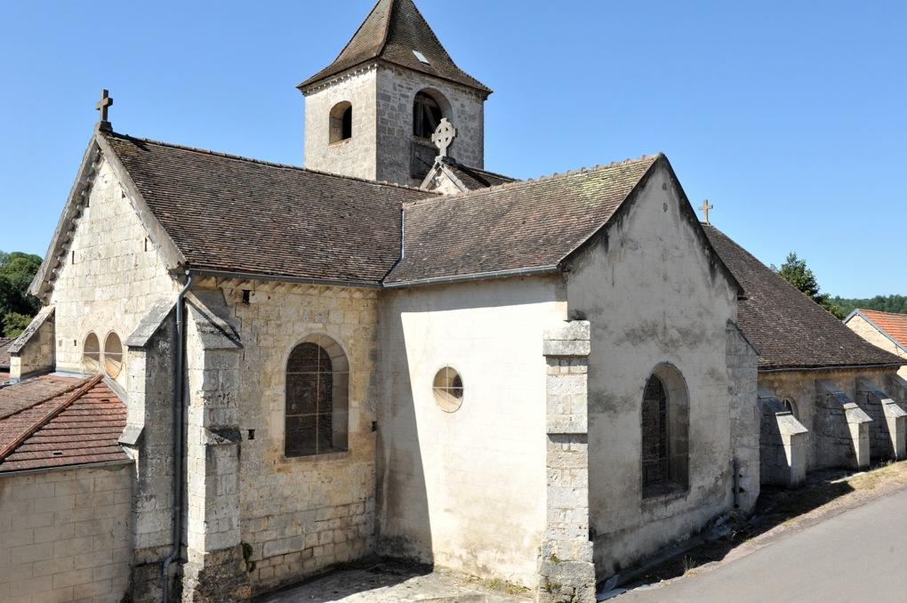 Recey-sur-Ource - Eglise Saint-Remy (fin XIIe siècle)