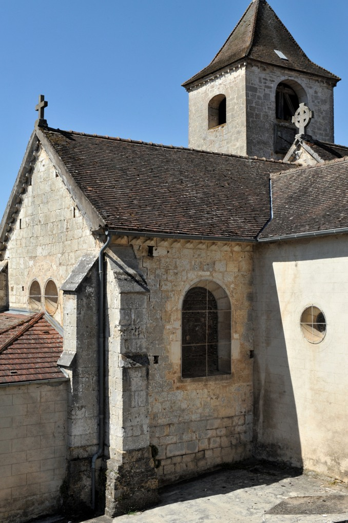 Recey-sur-Ource - Eglise Saint-Remy (fin XIIe siècle) - Le chevet plat
