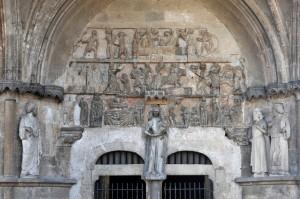 Rougemont (21) - Le portail (v. 1250)