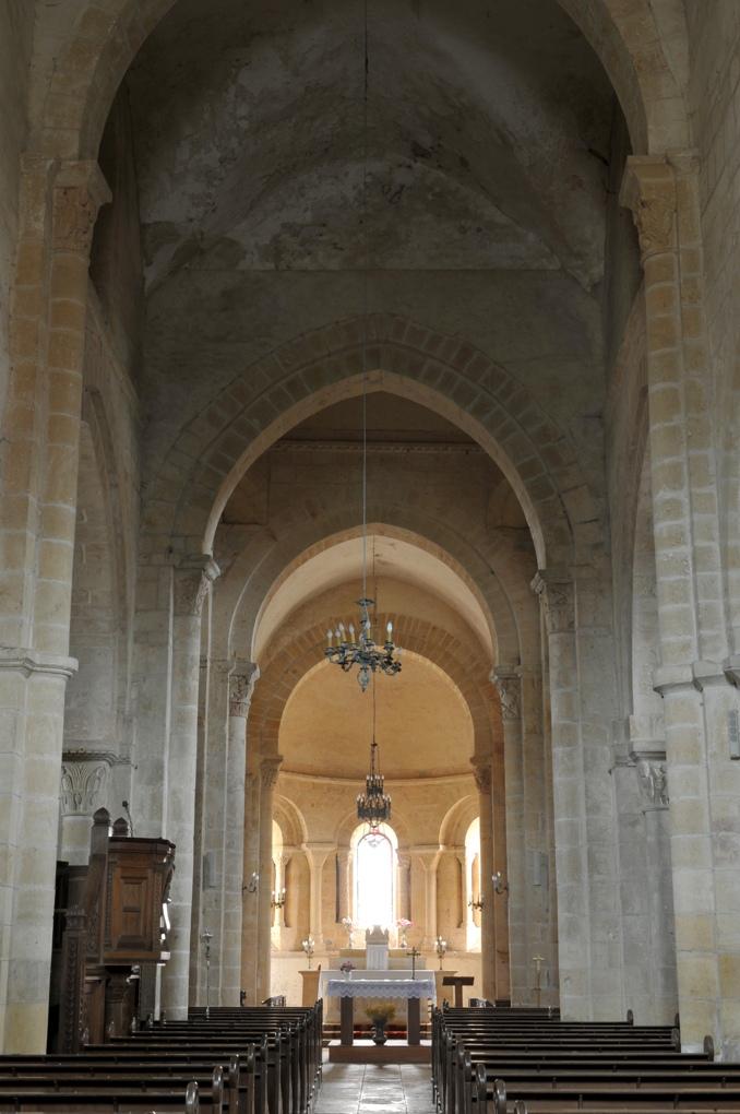 Sémelay - Eglise Saint-Pierre (XIIe siècle)