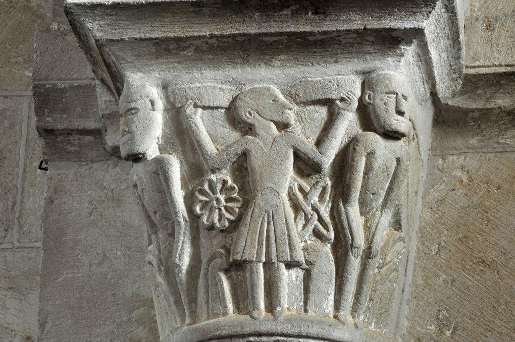 Sémelay - Eglise Saint-Pierre (XIIe siècle) - Chapiteau