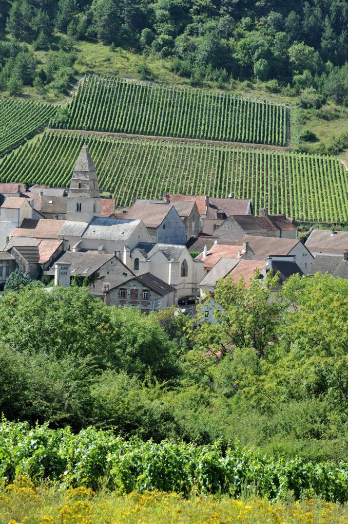 Saint-Aubin - Le village vigneron et son église médiévale (Xe-XIIe-XVe siècle)