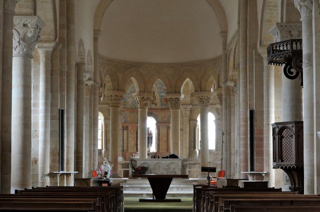 Saint-Révérien - Eglise Saint-Révérien - Le chevet (XIIe siècle)