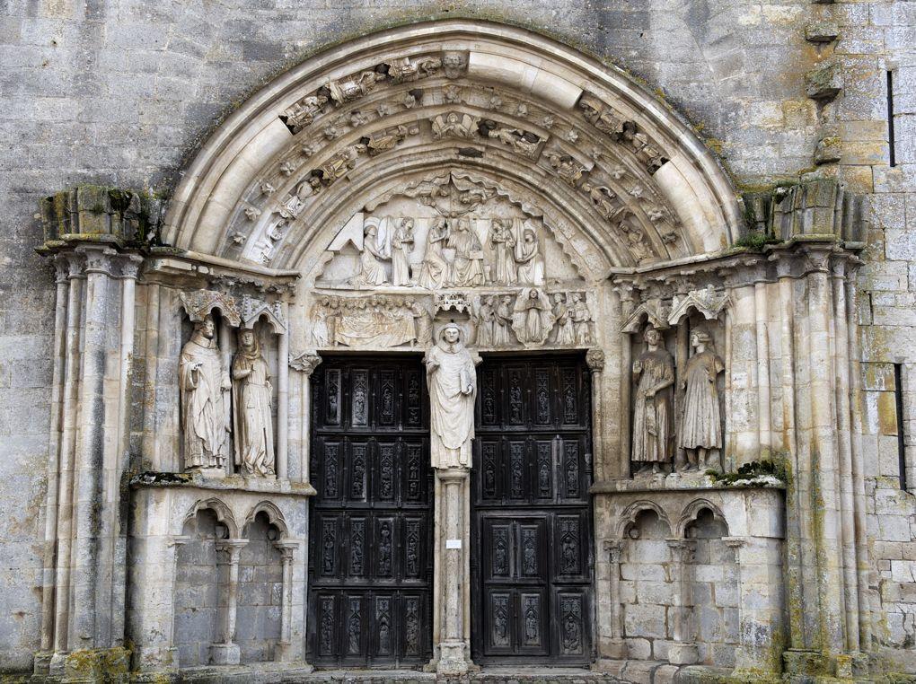 Saint-Thibault - Priorale - Le portail nord (v. 1260)