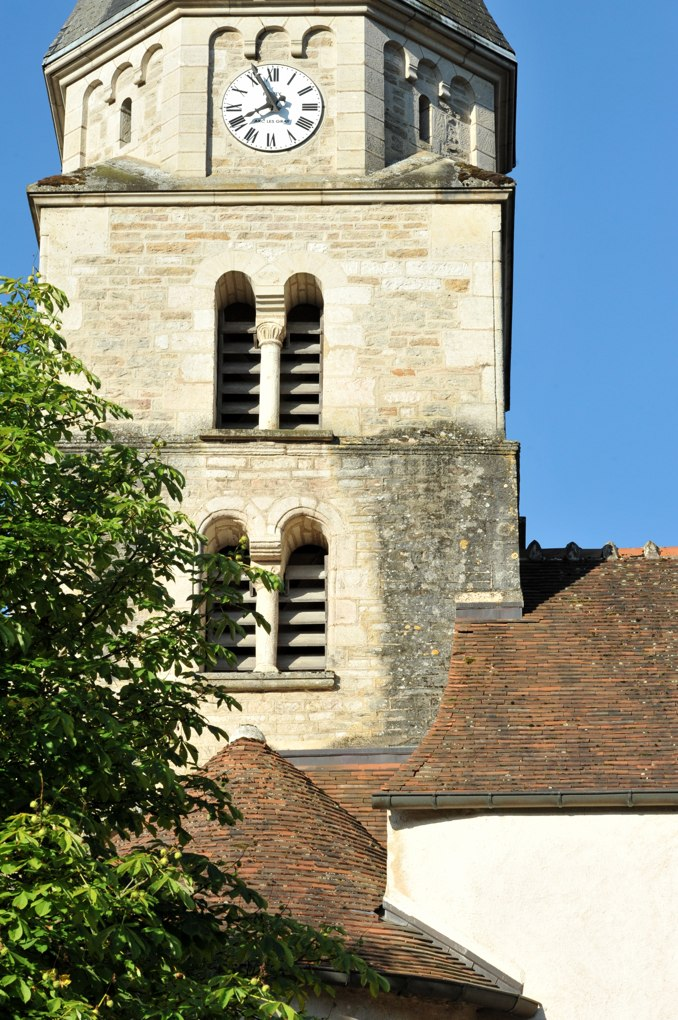 Salives - Eglise-Saint-Martin - Clocher (XIIe siècle)