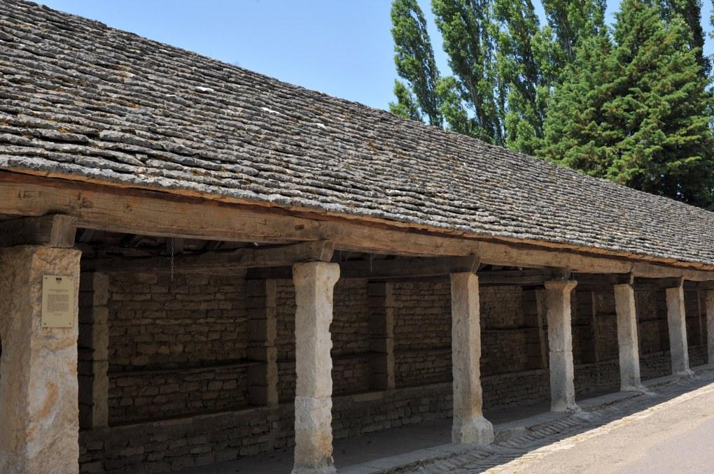 Salmaise - Les halles (3e tiers du XIIIe siècle)